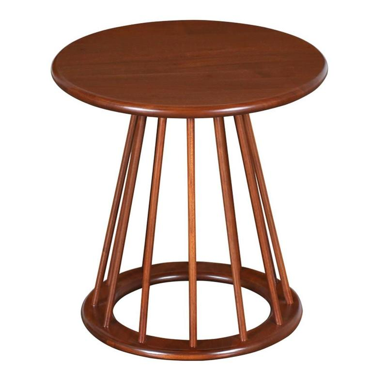 Arthur umanoff spindle side table for washington woodcraft for Table exit fly