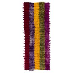 Five Color Mohair Tulu Runner