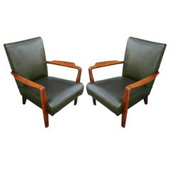 Stunning Pair of Gordon Russell Sculptural Lounge Chairs