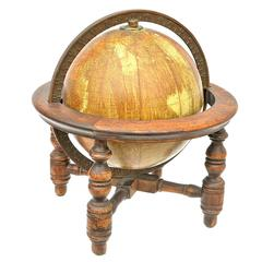Tabletop Globe with Patina