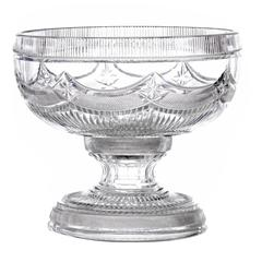 Georgian Cut Crystal Punch Bowl