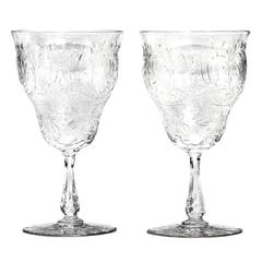 Stevens & Williams Cut Crystal Set for 16, 5-Piece Settings