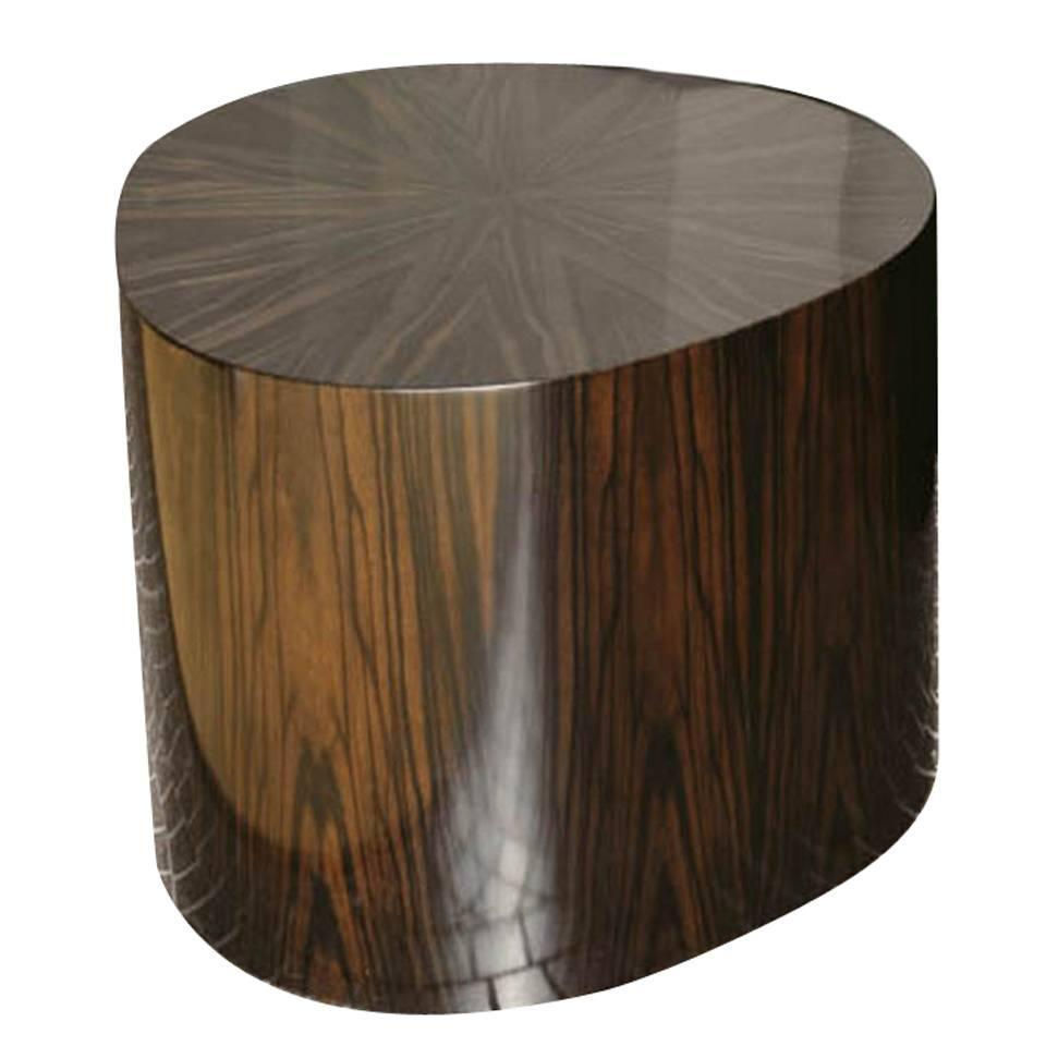 Wanted Organic Modern Wood Side Table By Dom Edizioni From