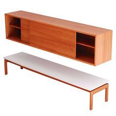 1958 Jos De Mey Modernist Sideboard Combination