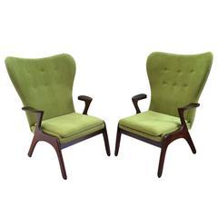 Pair of Danish Style Armchairs