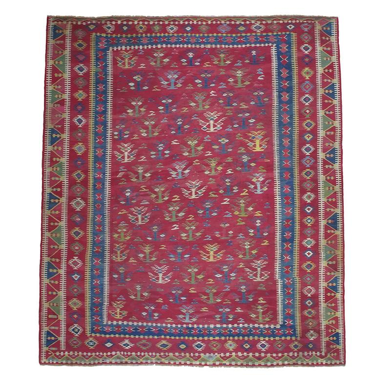 Antique Sharkoy Kilim