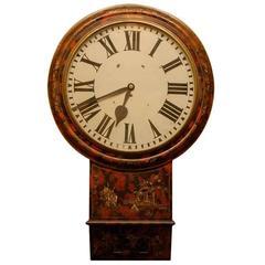 19th Century Chinoiserie Parliament Clock