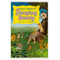 Sleeping Beauty Original American Film Poster, 1959
