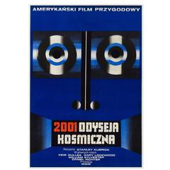 2001: A Space Odyssey Original Polish Film Poster, Wiktor Górka, 1973