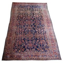 Antique Oversize Sarouk Persian Rug