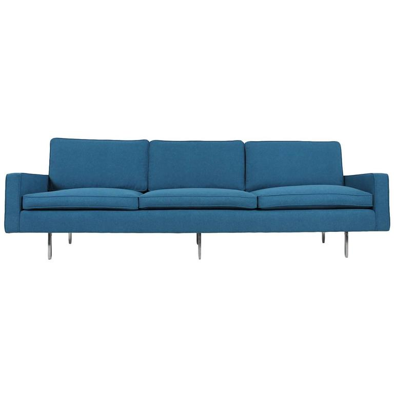 Beautiful Mid Century Florence Knoll Sofa Mod 25 Bc International 1949 For