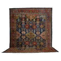 19th Century Antique Persian Ziegler Sultanabad Carpet