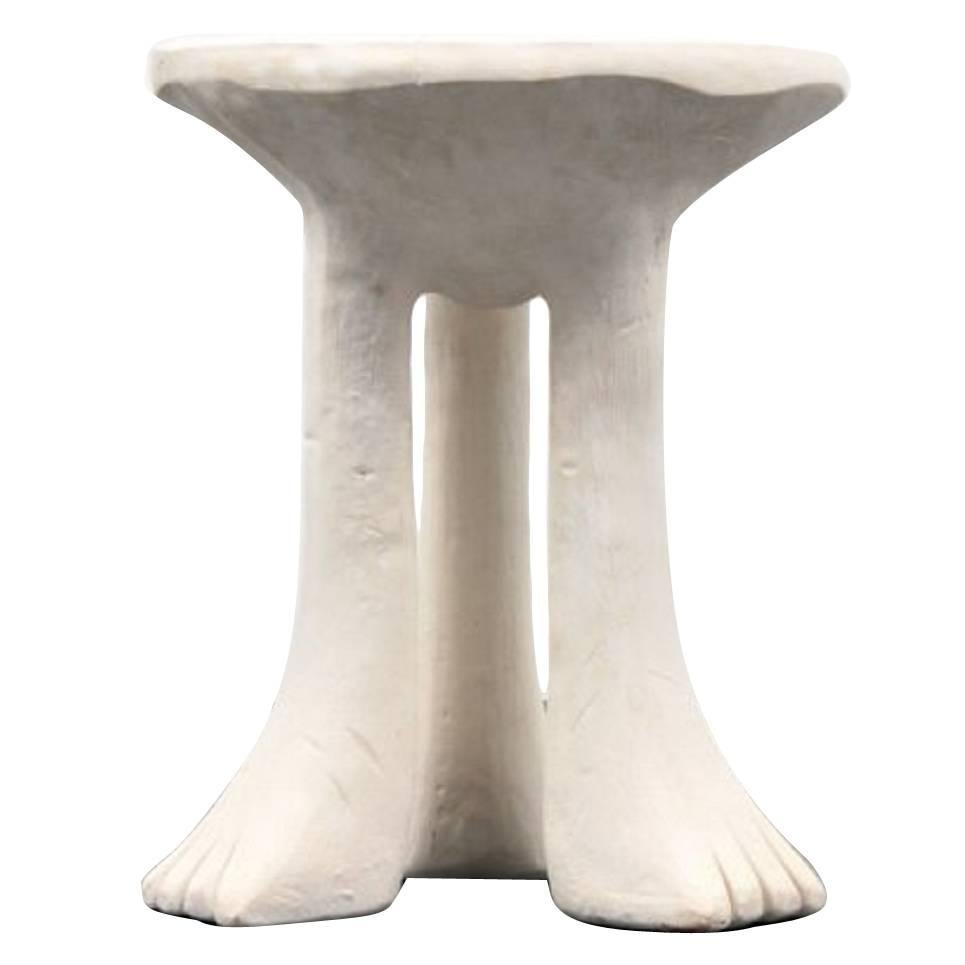 """John Dickinson Rare and Important """"African Table"""" 1980"""