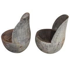 Organic Modern Coconut Chairs