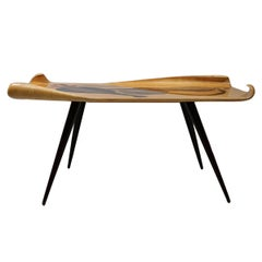 Side Table by Aldo Tura, Italy, circa 1960