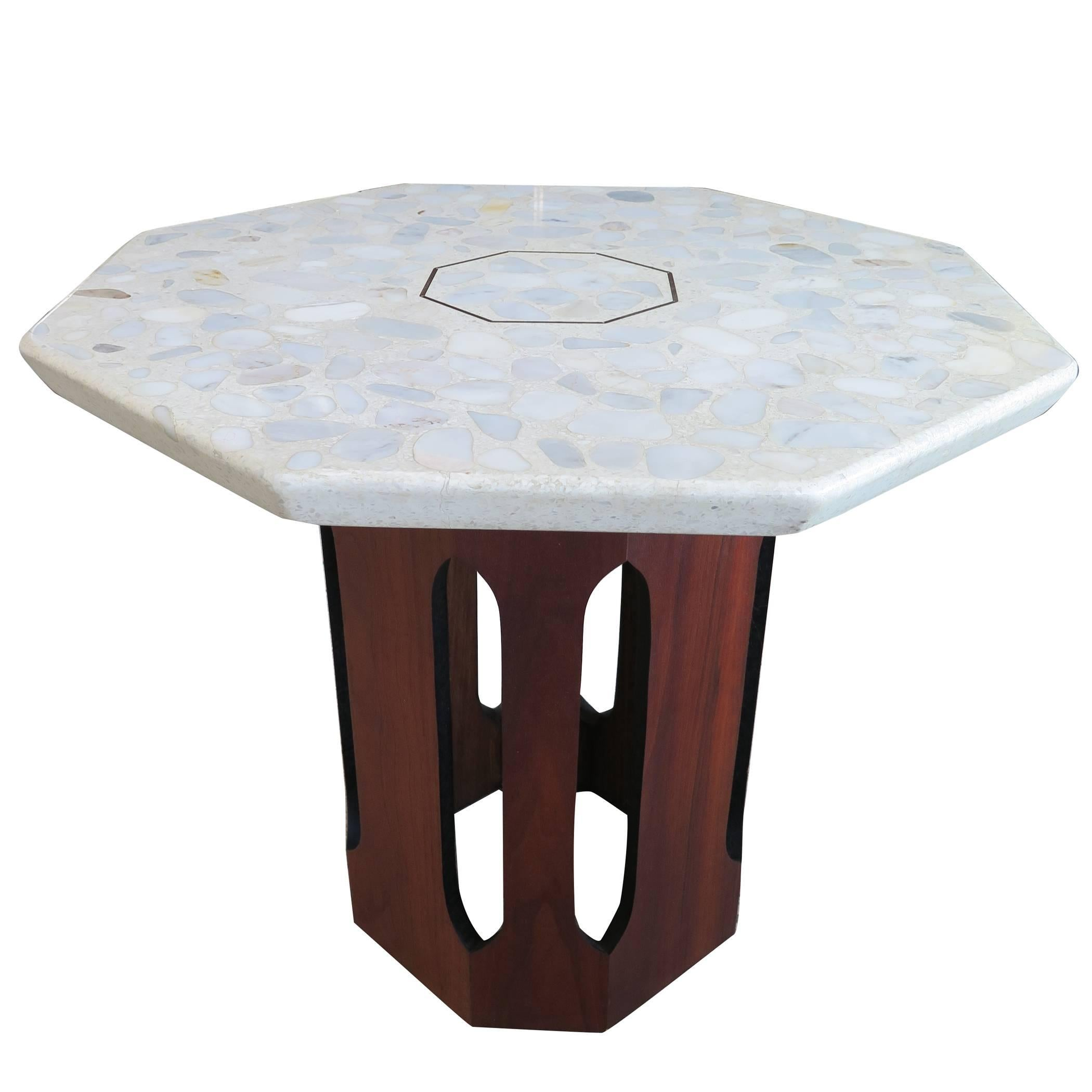 Harvey Probber Occasional Table with Terrazzo Top
