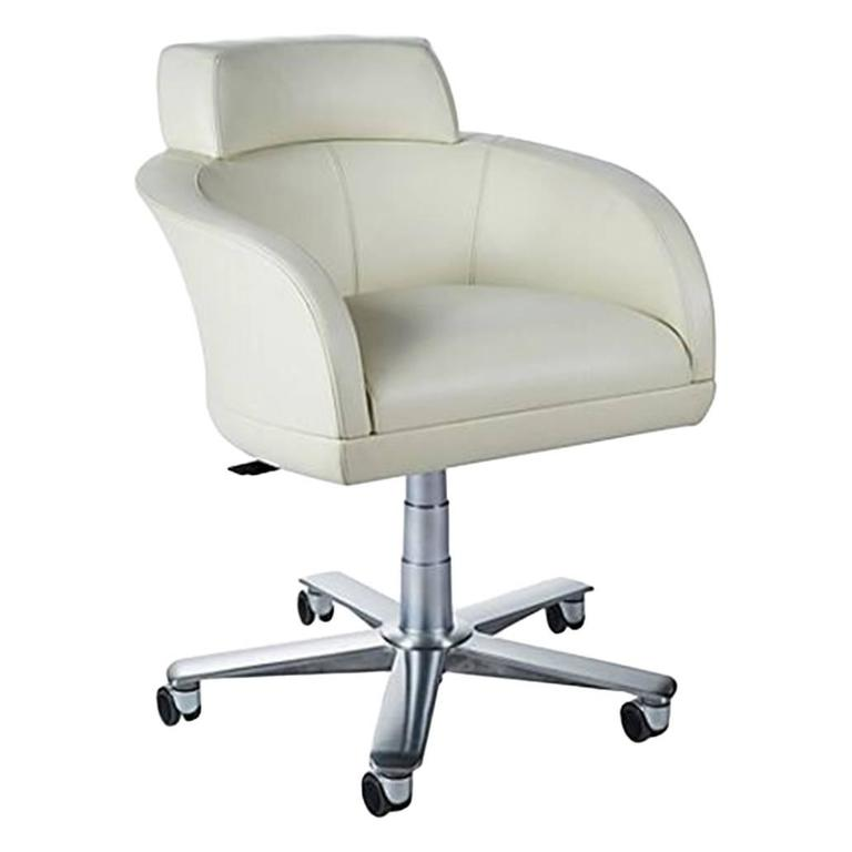 Giorgetti Selectus Swivel Armchair in Leather