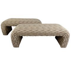 Stylish Modern Decorator Bench