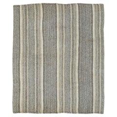 Vintage Turkish Flat Weave Kilim Rug