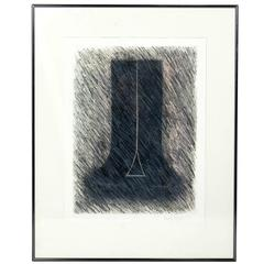Abstract Lithograph by Beverly Pepper