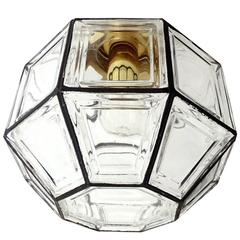 Jakobsson Limburg Glass Flush Mount Light