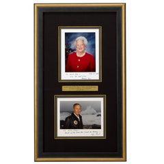 George H. W. Bush & Barbara Bush Signed Photographs