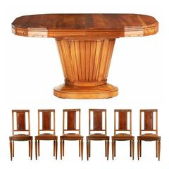 Art Deco Dining Room Sets - 50 For Sale at 1stdibs