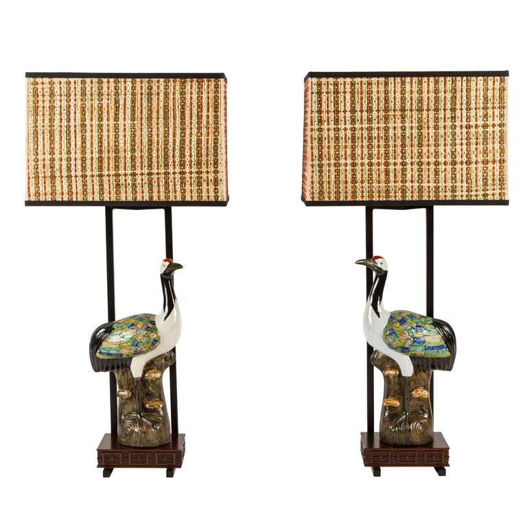Pair of Armature Lamps by Ted Graber for William Haines, Inc