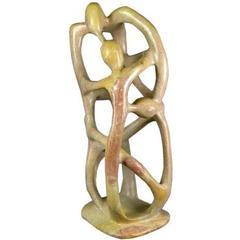 Figural Stone Sculpture