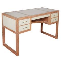Beni Studio 'Personal Desk' in Parchment Covered Oak