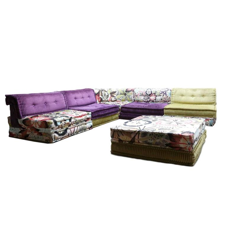 mah jong sofa by roche bobois at 1stdibs. Black Bedroom Furniture Sets. Home Design Ideas