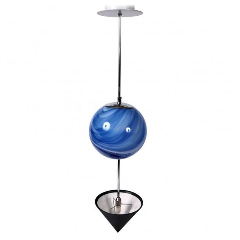 Memphis style art glass pendant light for sale at 1stdibs Artisan glass pendant lights