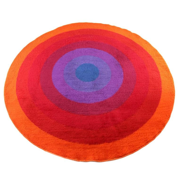 verner panton mira romantica large scale rug for sale at 1stdibs