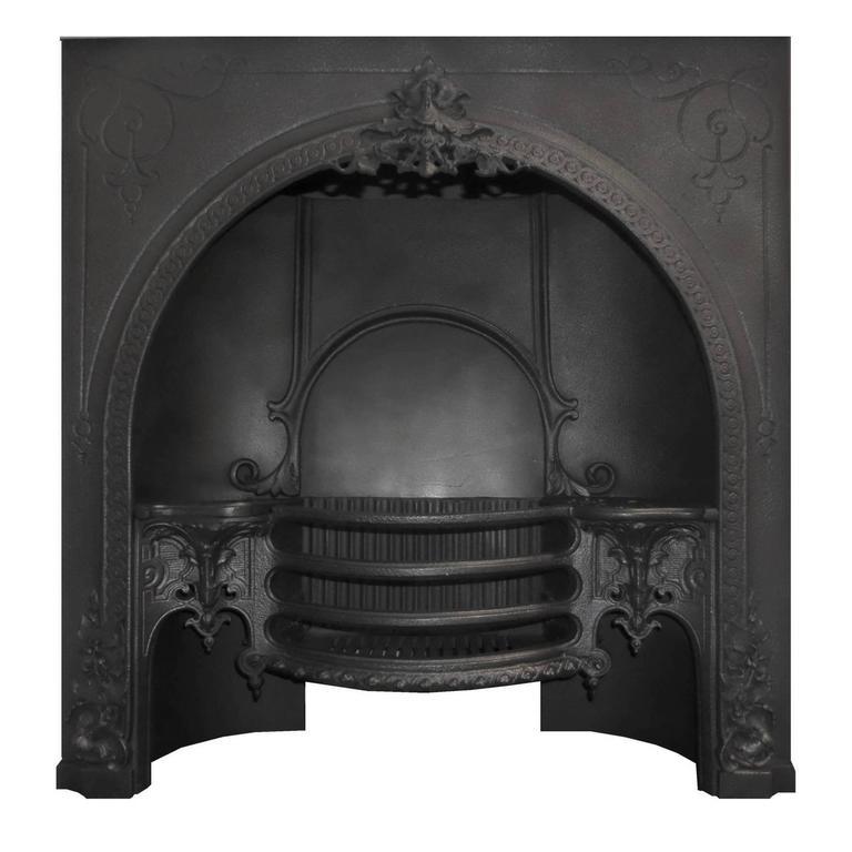 Antique Georgian Cast Iron Fireplace Insert At 1stdibs