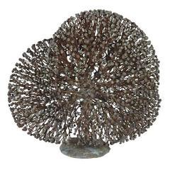 Harry Bertoia Bronze Bush Form Sculpture, USA 1960s