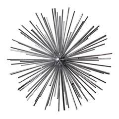 1970s Chrome Sputnik Sculpture by Curtis Jeré