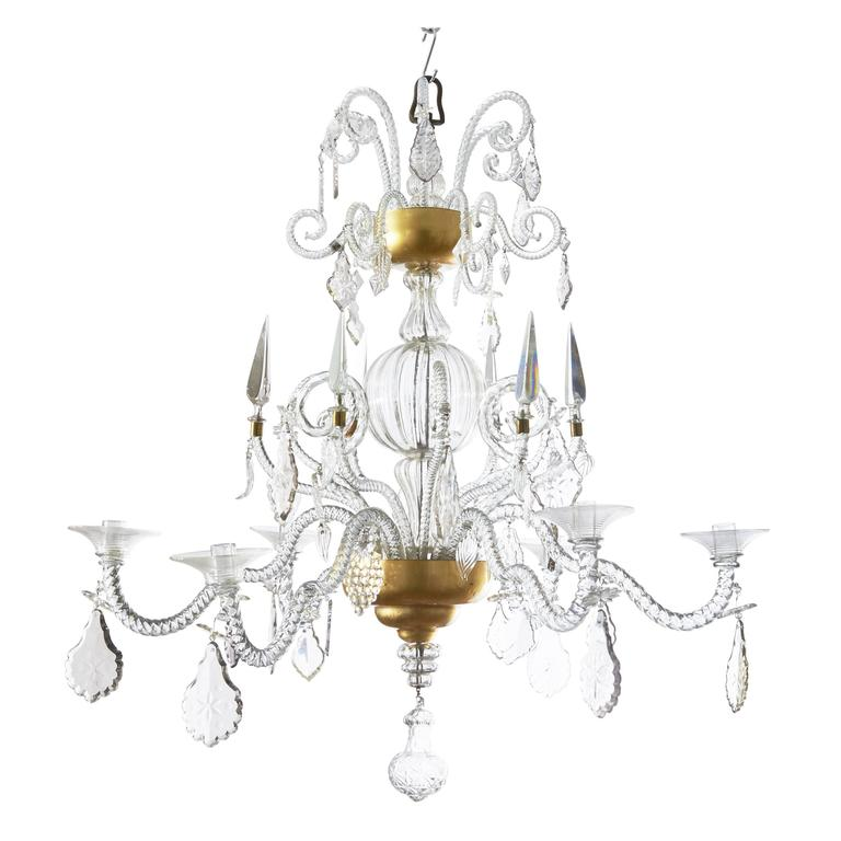Flemish moulded cut crystal chandelier liege circa 1760 at 1stdibs - Circa lighting chandeliers ...