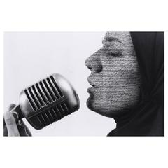 Shirin Neshat, 'Mystified', gelatin silver print with ink, 1997