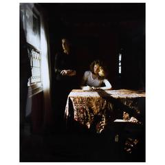 Tom Hunter, 'The Girl Writing an Affidavit', Cibachrome Print Photograph, 1997