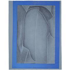 """Rare Lithograph """"Zwei, Sich Küssend"""" by Meret Oppenheim, 1961"""