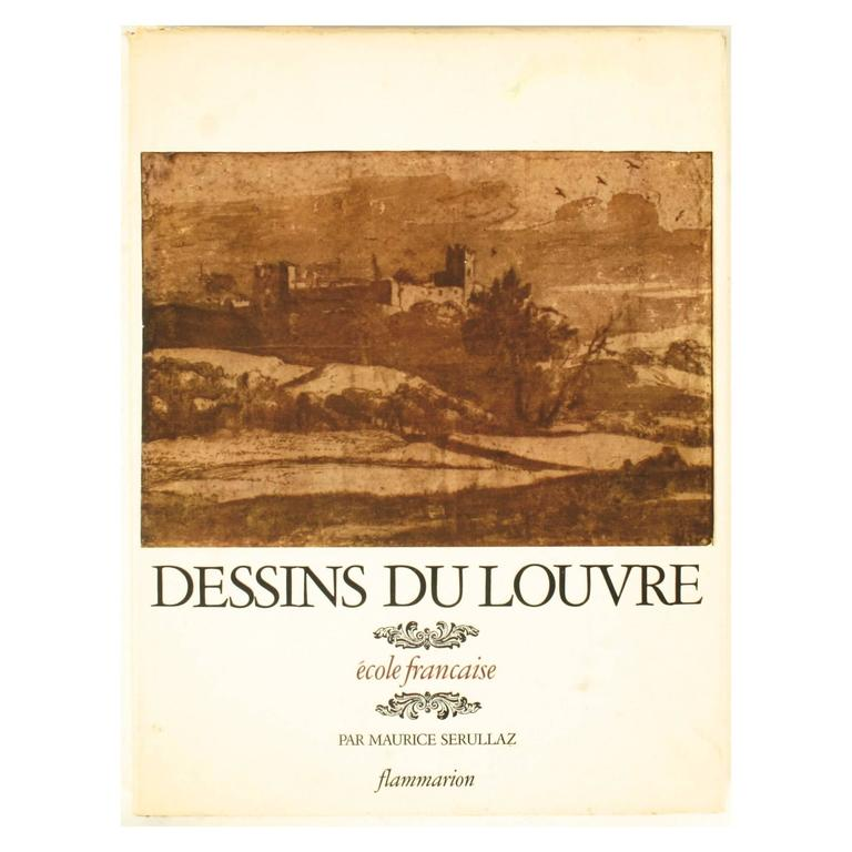 """Dessins Du Louvre"" Book First Edition"
