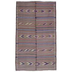 Baluch Two-Panel Kilim