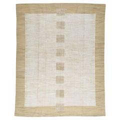 Modern Turkish Flat-Weave Room Size Rug
