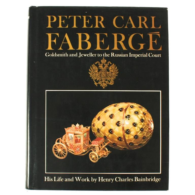 Peter Carl Faberge 'Goldsmith and Jeweller'