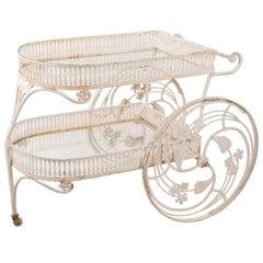 Antique Bar Cart