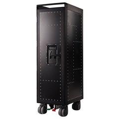 Black Rivet Aircraft Bar Trolley