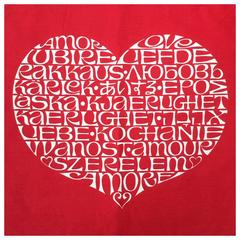 Alexander Girard International Heart Textile