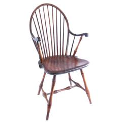 Late 18th Century Rhode Island Nine Spindle Windsor Armchair