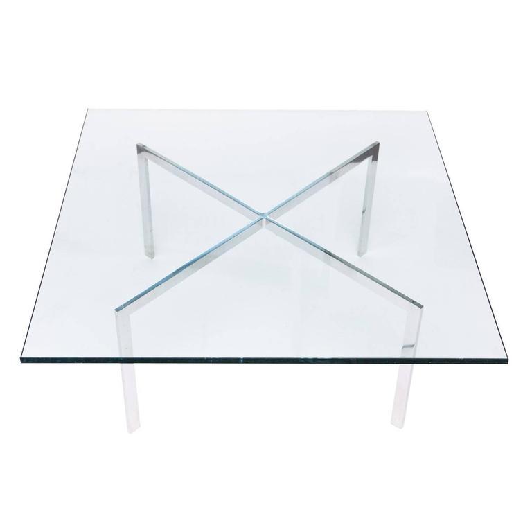 Mies Van Der Rohe for Knoll Barcelona Table Base