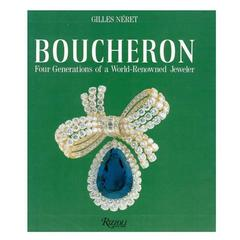 "Rare ""Boucheron Four Generations of a World-Renowned Jeweler"" Book, 1988"